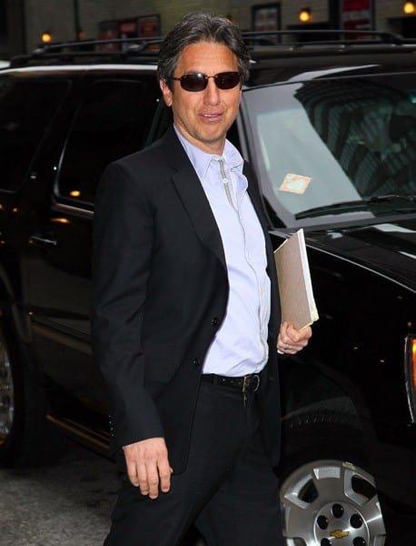 Actor Ray Romano visits 'Late Show With David Letterman' at the Ed Sullivan Theater on December 6, 2010 in New York City.
