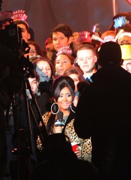 Nicole 'Snooki' Polizzi attends the preparations for MTV's 2011 New Year's Eve Ball Drop With Nicole 'Snooki' Polizzi on December 30, 2010 in Seaside Heights, New Jersey.
