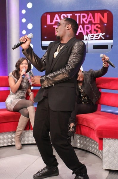 Sean 'Diddy' Combs visits BET's '106 & Park' at BET Studios on December 14, 2010 in New York City.