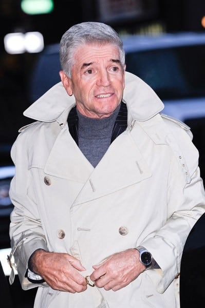 Comedian Tom Dreesen visits the 'Late Show With David Letterman' at the Ed Sullivan Theater on December 15, 2010 in New York City.