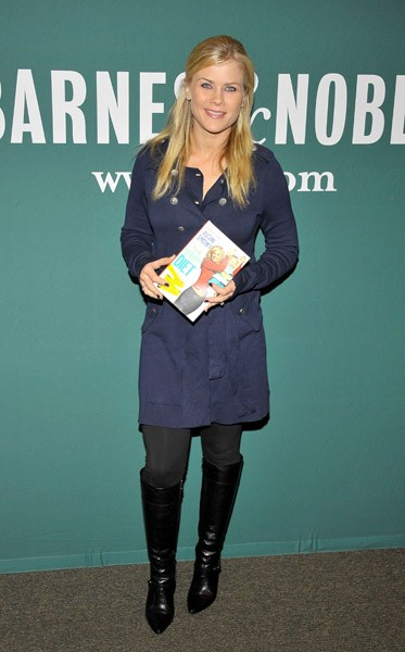 Alison Sweeney signs copies of her book 'The Mommy Diet' at Barnes & Noble bookstore at The Grove on January 18, 2011 in Los Angeles, California.