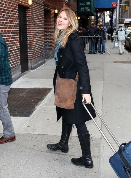 Actress Beau Garrett visits 'Late Show With David Letterman' at the Ed Sullivan Theater on January 6, 2011 in New York City.