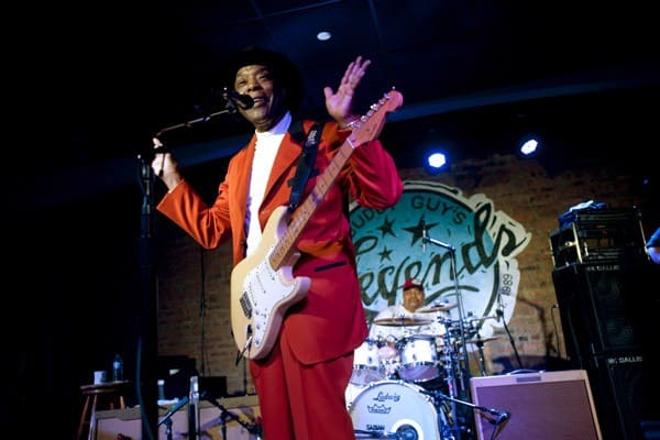 Buddy Guy performs at Buddy Guy's Legends on January 9, 2011 in Chicago, Illinois.