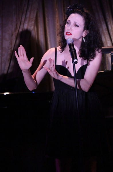 Actress Bebe Neuwirth performs during Manhattan Theatre Club's 2011 Winter Benefit 'An Intimate Night' at The Plaza Hotel on January 24, 2011 in New York City.