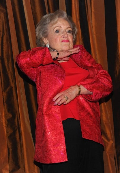 Betty White attends her 89th birthday party at Le Cirque on January 18, 2011 in New York City.