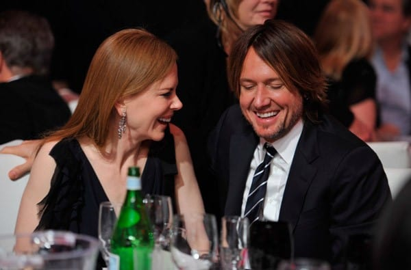 Nicole Kidman and Keith Urban attend the 16th Annual Critics Choice Movie Awards at the Hollywood Palladium on January 14, 2011 in Los Angeles, California.