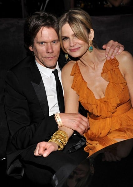 Kevin Bacon and Kyra Sedgwick attend the Weinstein Company and Relativity Media's 2011 Golden Globe After Awards Party presented by Marie Claire held at The Beverly Hilton hotel on January 16, 2011 in Beverly Hills, California.