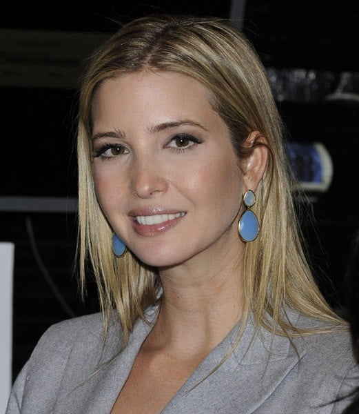 Ivanka Trump visits the New York Stock Exchange on January 24, 2011 in New York City.