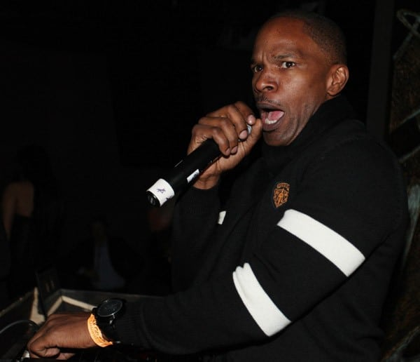 """Jamie Foxx hosts a party for his new album """"Intuition"""" at Karu & Y on January 1, 2011 in Miami, Florida."""