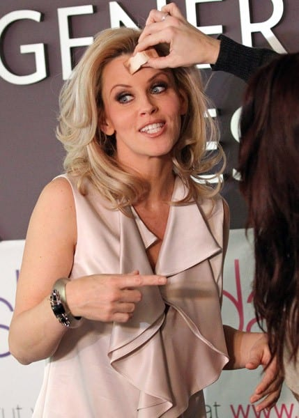 Jenny McCarthy attends a design session for 'ShoeDazzle' to benefit Generation Rescue on January 12, 2011 in Los Angeles, California.
