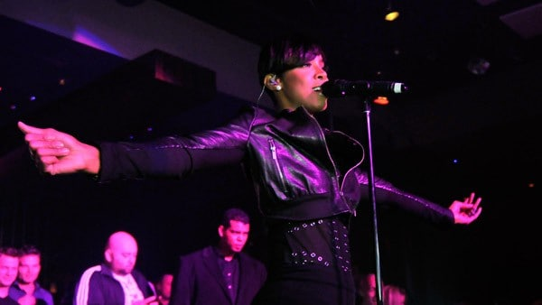 Kelly Rowland performs at Jet Nightclub at the Mirage Hotel & Casino on January 2, 2011 in Las Vegas, Nevada.