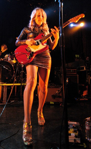 Liz Phair performs at Metro on January 22, 2011 in Chicago, Illinois.