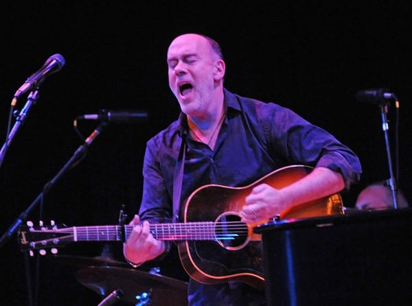 Suzanne Vega and Marc Cohn perform at Town Hall on January 8, 2011 in New York City.