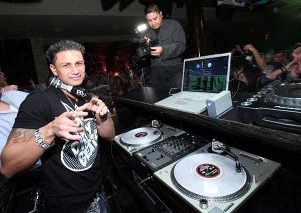 DJ Pauly D performs at DJ Pauly D Live at JET Nightclub at The Mirage Hotel & Casino on January 1, 2011 in Las Vegas, Nevada.