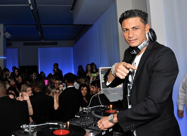 Paul 'Pauly D' DelVecchio hosts the Newyearseve.com party at Espace on December 31, 2010 in New York City.