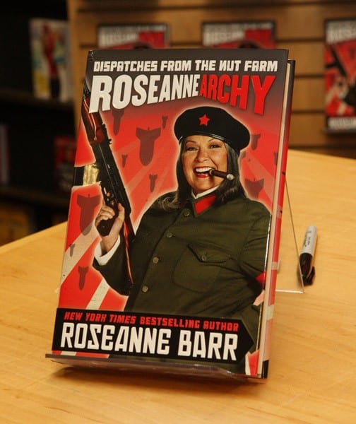 Actress Roseanne Barr promotes 'Roseannearchy' at Borders Columbus Circle on January 6, 2011 in New York City.