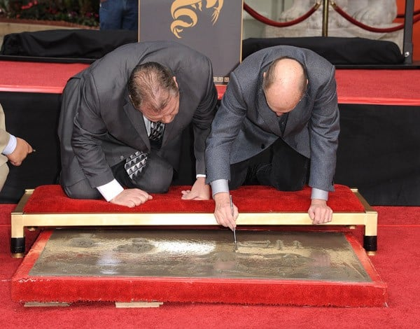 Robert Duvall Honored With Historic Hand And Footprint Ceremony at Grauman's Chinese Theatre on January 5, 2011 in Hollywood, California.