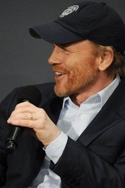 Ron Howard visits the Apple Store Soho on January 13, 2011 in New York City.