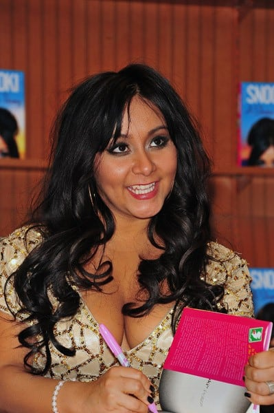 Nicole 'Snooki' Polizzi promotes her book 'A Shore Thing' at Barnes & Noble on January 13, 2011 in Brick, New Jersey.