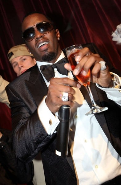 Fabolous and Sean 'Diddy' Combs host New Year's Eve Celebration held at LAX Nightclub inside the Luxor Hotel and Casino on December 31, 2010 in Las Vegas, Nevada.