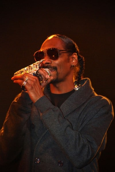 Snoop Dogg's New Year's Day 2011 Concert at the House of Blues in Hollywood, California on January 1, 2010