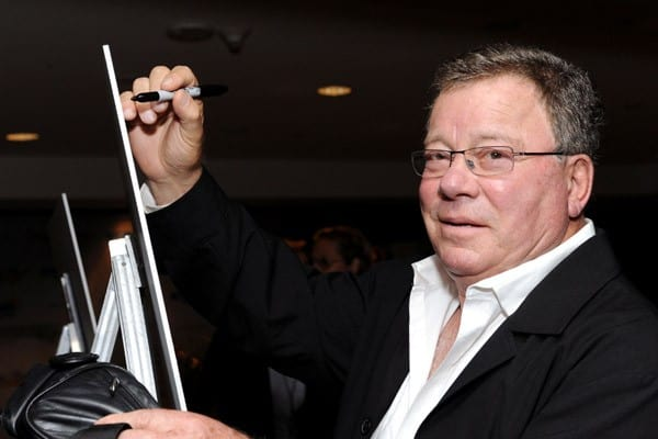 Actor William Shatner attends the Access Hollywood 'Stuff You Must...' Lounge produced by On 3 Productions at the Sofitel Hotel on January 15, 2011 in Los Angeles, California.