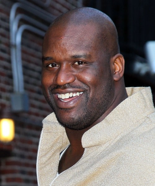 NBA star Shaquille O'Neal visits 'Late Show With David Letterman' at the Ed Sullivan Theater on January 4, 2011 in New York City.