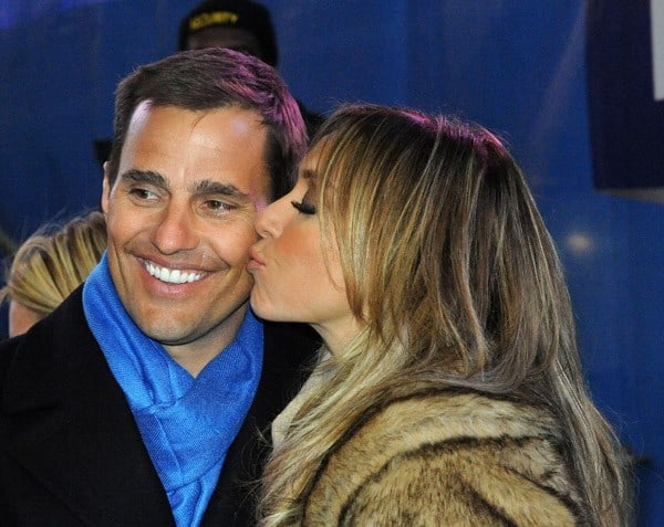 Bill Rancic and Giuliana Rancic celebrate New Year's Eve in Times Square on December 31, 2010 in New York City.