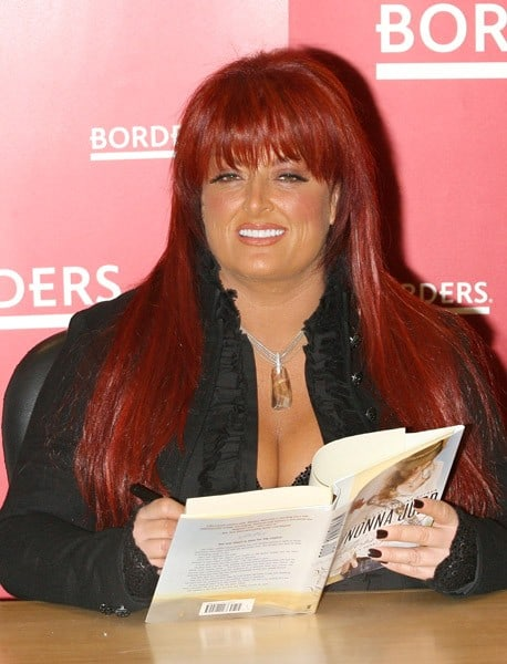 Wynonna Judd promotes her new book 'Restless Heart' at Borders Columbus Circle on January 25, 2011 in New York City.