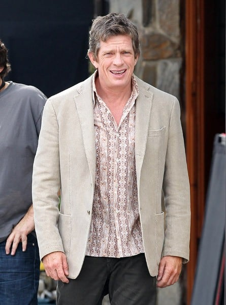 Thomas Haden Church is seen on location for 'We Bought a Zoo' on January 26, 2011 in Los Angeles, California.