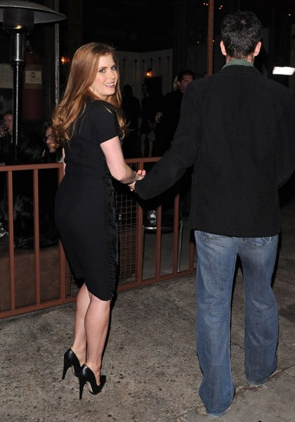 Amy Adams is seen at the District on February 21, 2011 in Los Angeles, California.