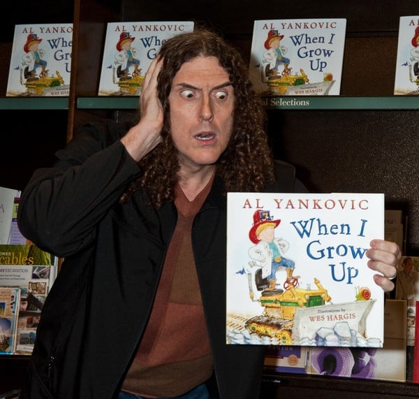 Weird Al Yankovic 'When I Grow Up' Book Signing at Barnes & Noble in Princeton, NJ on February 01, 2011