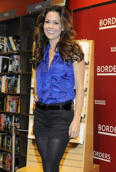 Brooke Burke signs copies of her book 'The Naked Mom' at Borders Columbus Circle on February 2, 2011 in New York City.
