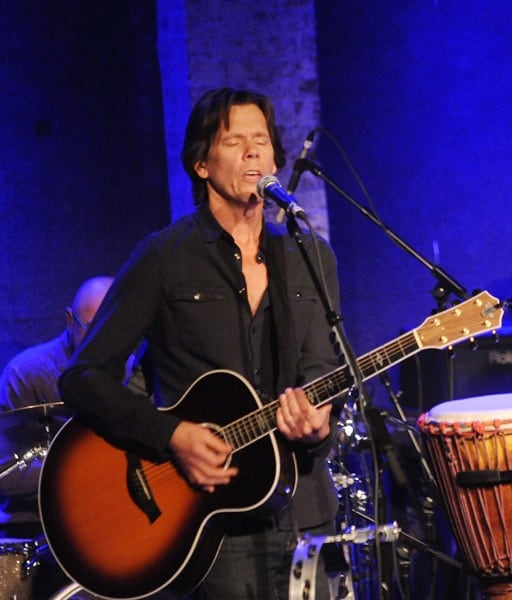 Kevin Bacon and Michael Bacon perform at City Winery on February 16, 2011 in New York City.