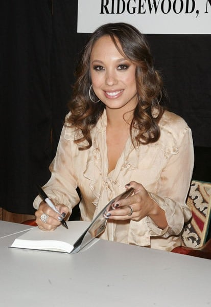 Cheryl Burke promotes 'Dancing Lessons: How I Found Passion and Potential on the Dance Floor & In Life' at Bookends Bookstore on February 16, 2011 in Ridgewood, New Jersey.