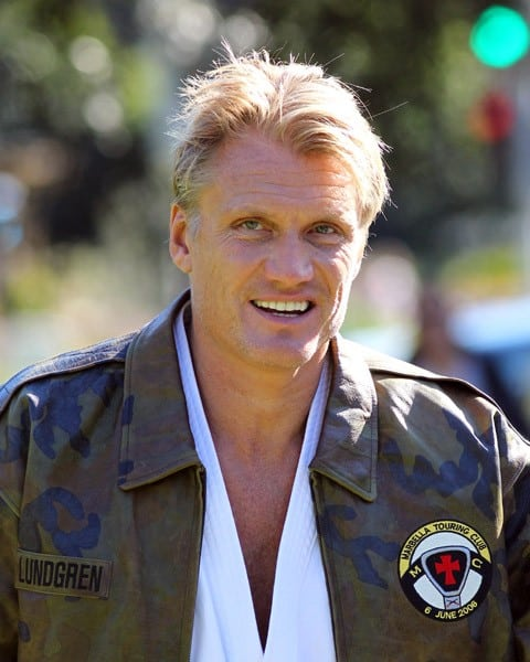 Dolph Lundgren is seen training at the park on February 20, 2011 in Los Angeles, California.