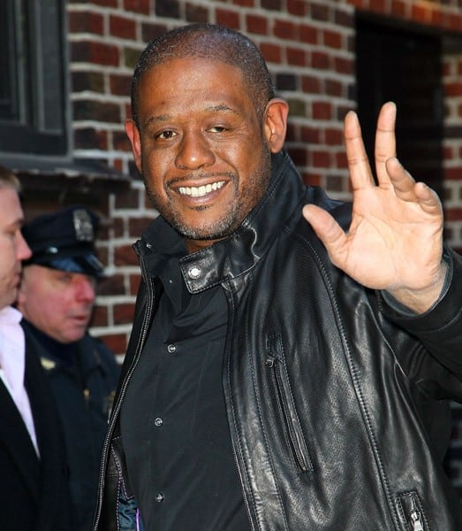Actor Forest Whitaker visits 'Late Show With David Letterman' at the Ed Sullivan Theater on February 15, 2011 in New York City.