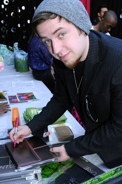 Lee DeWyze attends the GRAMMY Gift Lounge at the Staples Center on February 11, 2011 in Los Angeles, California.