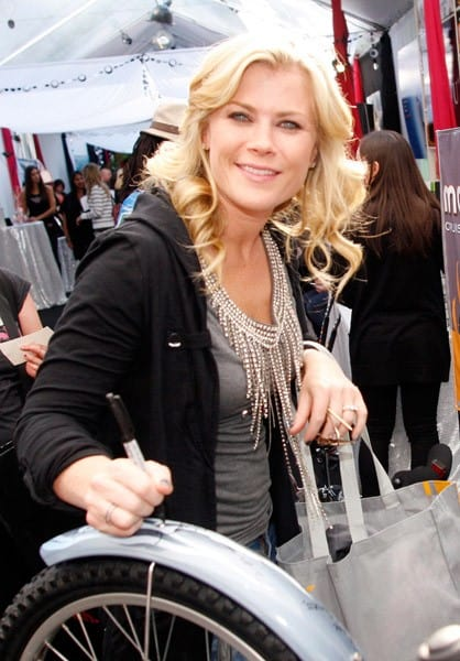 Alison Sweeney attends the GRAMMY Gift Lounge at the Staples Center on February 11, 2011 in Los Angeles, California.