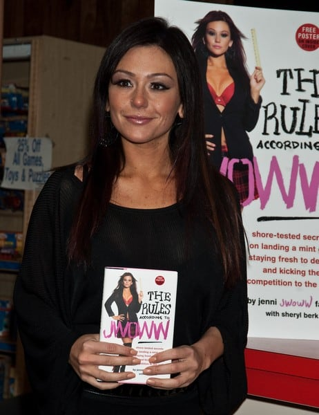 Jenni 'JWOWW' Farley's 'The Rules According To JWOWW' Book Signing at Bookends in Ridgewood, New Jersey on February 08, 2011