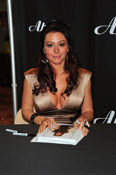 Jenni 'JWoww' Farley promotes Ab Cuts by Revolution at the GNC Store, Westfield Garden State Plaza on January 31, 2011 in Paramus, New Jersey.