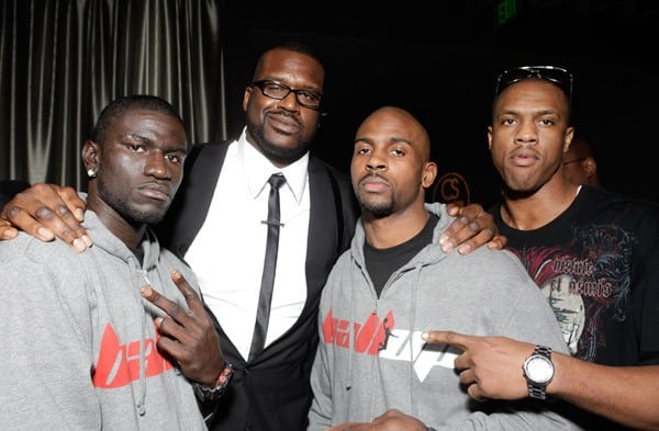 Celebrities attend Kevin Hart's 'Laugh At My Pain' Official After Party at Club Nokia on February 18, 2011 in Los Angeles, California.