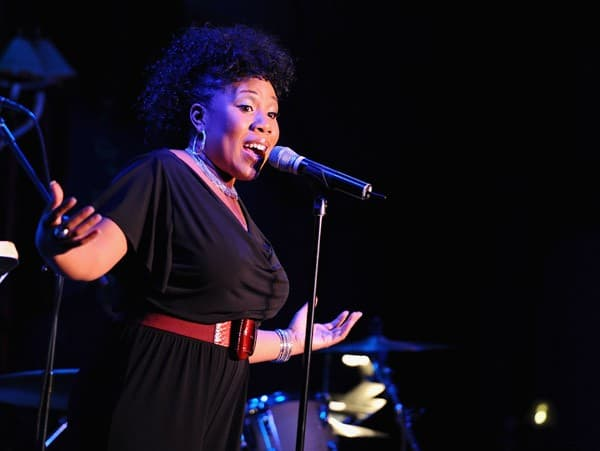 Singer Melinda Doolittle performs at Feinstein's at Loews Regency Ballroom on February 22, 2011 in New York City.