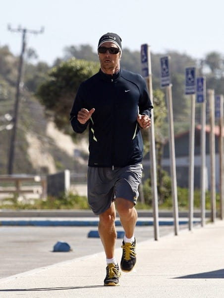 Matthew McConaughey is seen in Malibu on February 5, 2011 in Los Angeles, California.