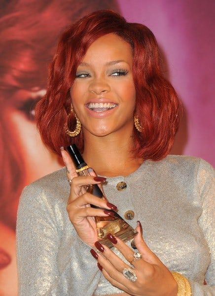 Rihanna attends her 'Reb'l Fleur' Fragrance Launch at Macy's Lakewood Mall on February 18, 2011 in Lakewood, California.