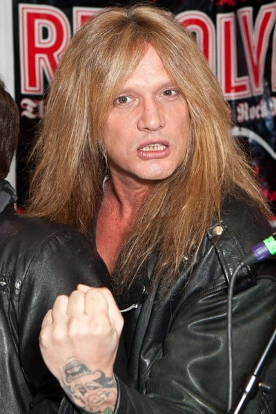 Vocalist Sebastian Bach attends the 3rd annual 'Revolver' Golden Gods Award Show nominees press conference at Club Nokia on February 24, 2011 in Los Angeles, California.