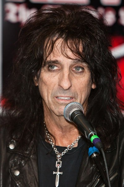 Rocker Alice Cooper attends the 3rd annual 'Revolver' Golden Gods Award Show nominees press conference at Club Nokia on February 24, 2011 in Los Angeles, California.