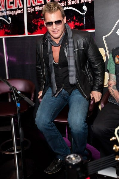 Wrestler/musician Chris Jericho attends the 3rd annual 'Revolver' Golden Gods Award Show nominees press conference at Club Nokia on February 24, 2011 in Los Angeles, California.