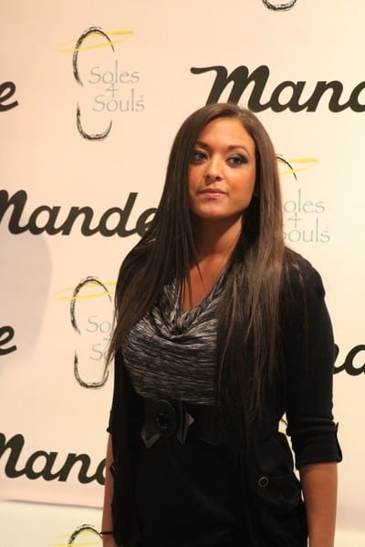Sammi 'Sweetheart' Giancola Appearance to Benefit Soles4Souls at Mandee in Clifton on February 11, 2011