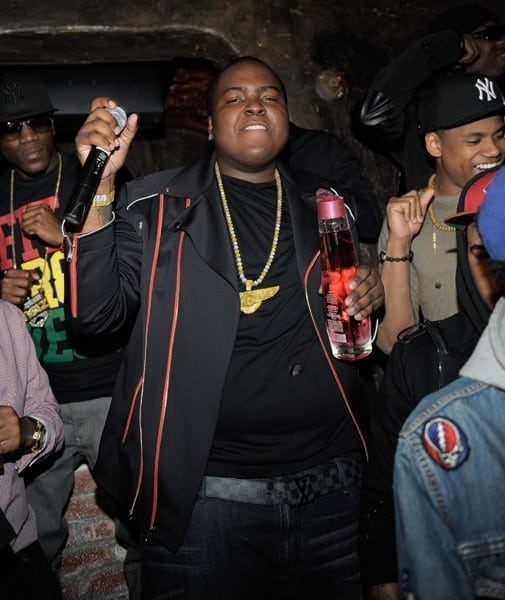 Sean Kingston attends his own 21st Birthday Party Presented by MTV at Premiere on February 9, 2011 in Hollywood, California.